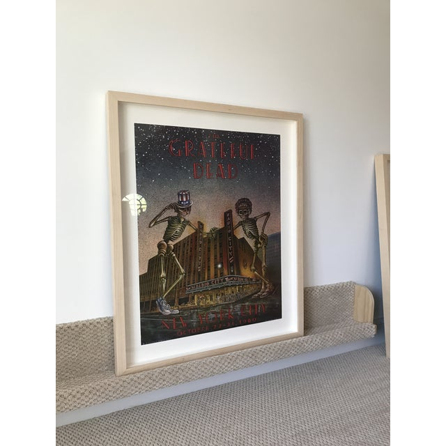 The Grateful Dead Poster - New York City For Sale - Image 5 of 5