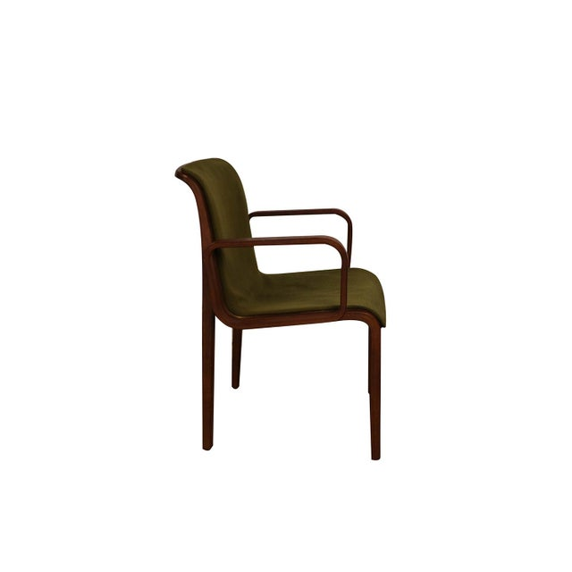 Knoll International Mid Century Bill Stephens Knoll Bentwood Chair For Sale - Image 4 of 11