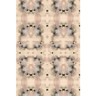 Contemporary Bohemian Riff Large Wallpaper For Sale
