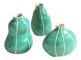 Image of Green Vases