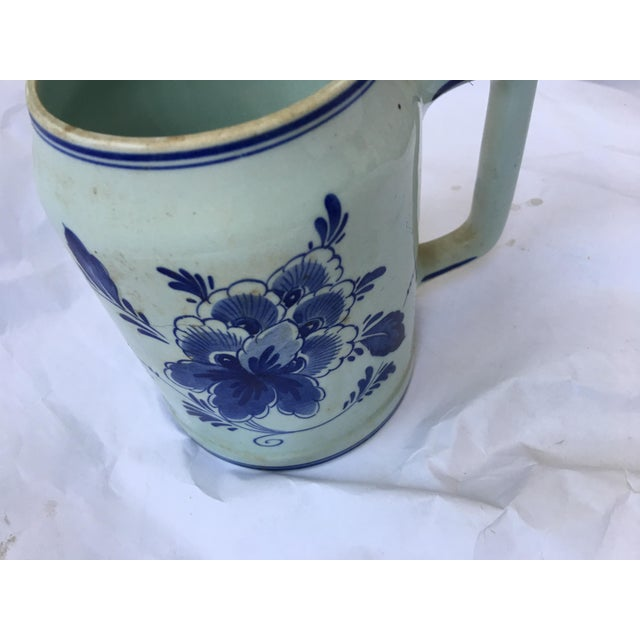 Ceramic Hand Painted Personalized Delft Mug For Sale - Image 7 of 10