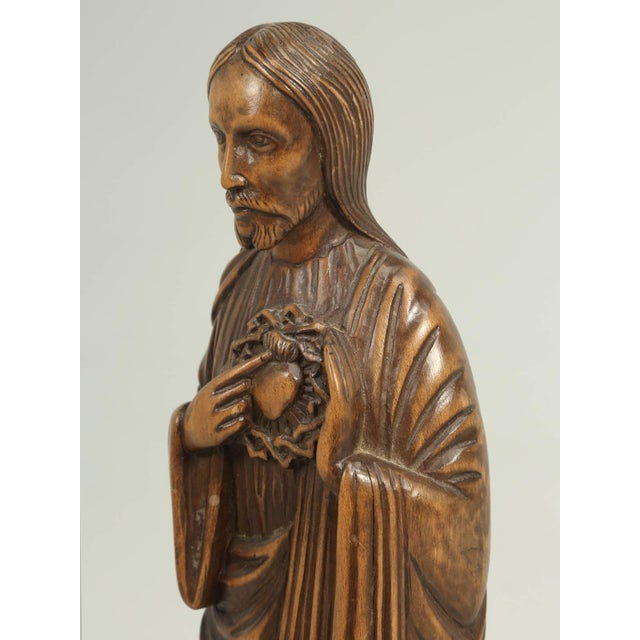 French Wood Carving by the French Sculptor R. Vergnes, Circa 1949 For Sale - Image 3 of 9