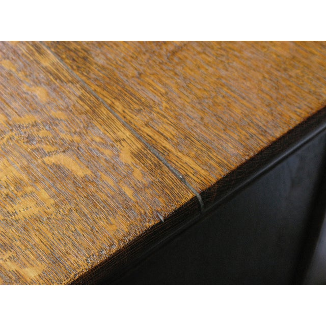 Oak Twist Leg Sideboard - Image 7 of 8