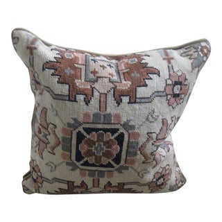 Ralph Lauren Needlepoint Pillows - a Pair For Sale
