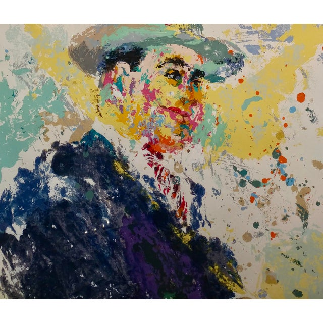 Leroy Neiman -Al Capone-Limited Edition Serigraph-Pencil Signed - Image 4 of 10