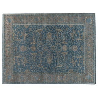Stark Studio Traditional Soriano Aegean Wool Rug - 9′10″ × 13′9″ For Sale