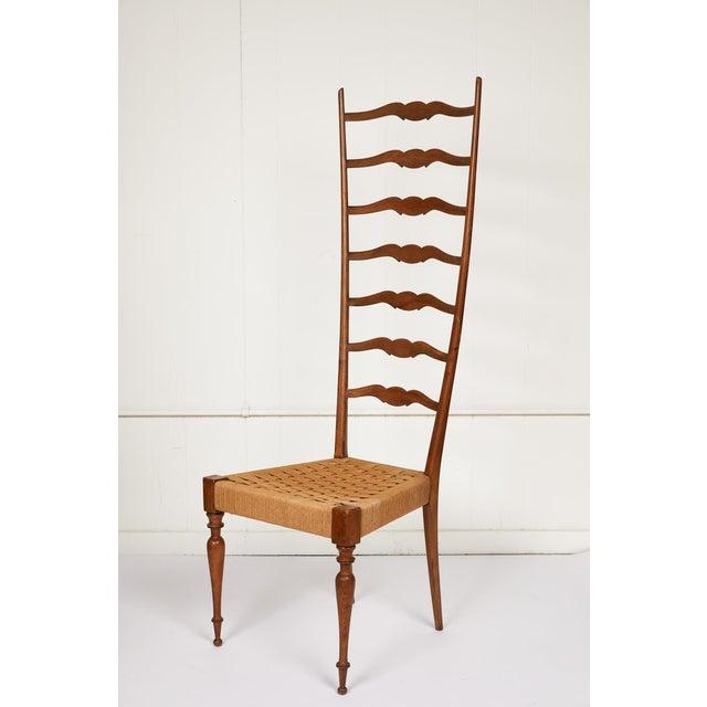 Italian Tall Ladderback Chiavari Chair For Sale - Image 12 of 12