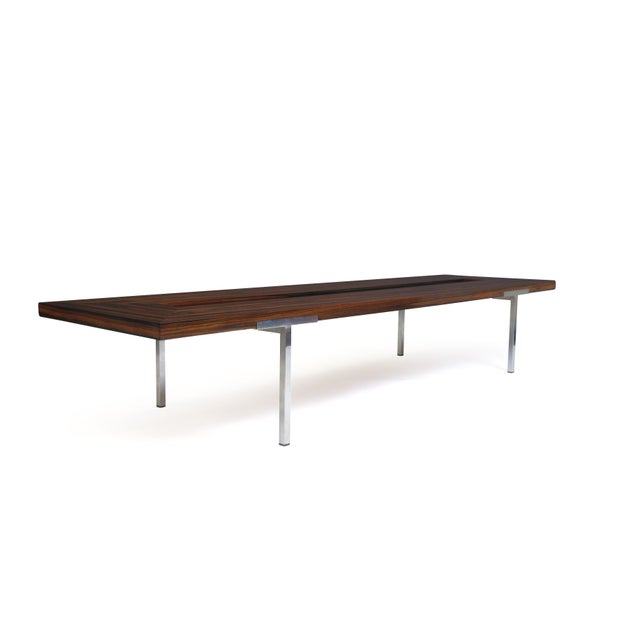 Santos Rosewood Coffee Table For Sale - Image 5 of 11