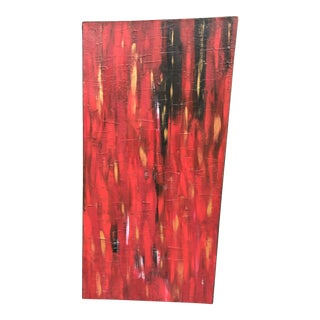 Red Abstract Painting For Sale