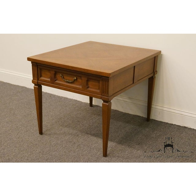 French 20th Century French Regency American of Martinsville End Table For Sale - Image 3 of 13