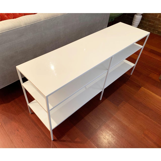 Room & Board Room and Board Metal Shelving Unit For Sale - Image 4 of 10