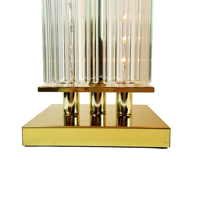Sciolari-Style Glass Rod Table Lamps - A Pair - Image 6 of 10
