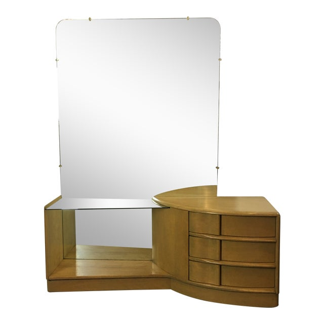Heywood Wakefield Sculptura Vanity For Sale