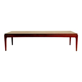 Mid Century Rhythm Coffee Table by Lane For Sale