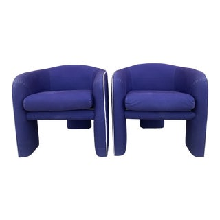 Vladimir Kagan Tripod Chairs- a Pair For Sale