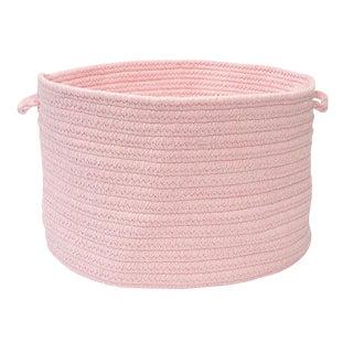 "Bristol Blush Pink 18""x12"" Utility Basket"