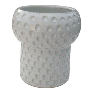 Boho Chic Scalloped Utensil Bud Vase IV For Sale