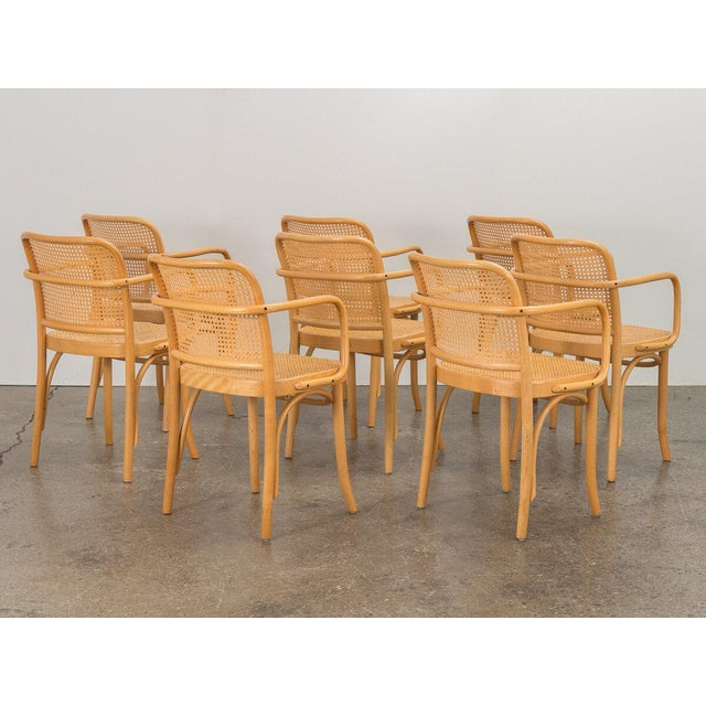 Joseph Hoffman Bentwood Chairs - Set of 8 For Sale - Image 4 of 11