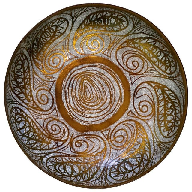 Vintage Mid-Century Mossiadis Enamel Bowl For Sale - Image 9 of 12