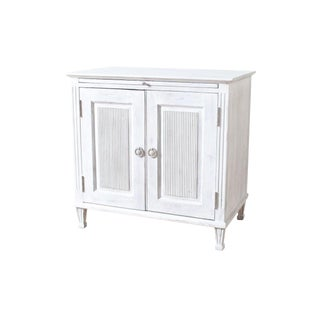 Transitional Lindsey Two-Door Chest For Sale
