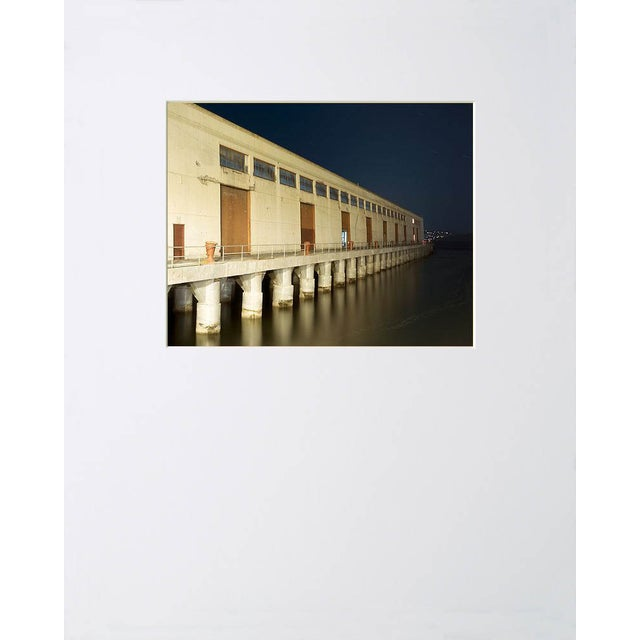 """Note from the artist, John Vias: """"I like the colors and repeating patterns in the buildings at Fort Mason in San..."""