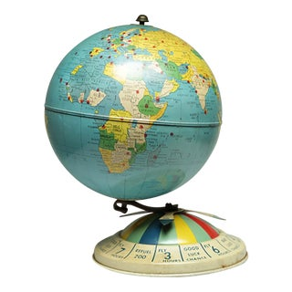 Air Race Globe by Replogle C. 1950s