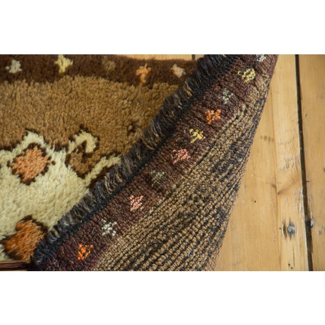"""Vintage Oushak Rug Mat - 1'8"""" X 2'7"""" For Sale In New York - Image 6 of 7"""
