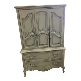 1960s French Style Gretchen Gray Dresser For Sale