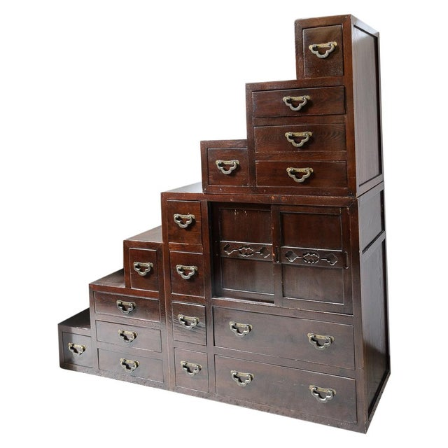 Japanese Step Chest For Sale In West Palm - Image 6 of 6