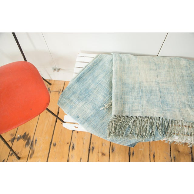 """Vintage African Textile Throw - 3'5"""" X 6'3"""" - Image 2 of 6"""