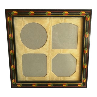 Rare Bois Extreme French Marquetry Inlay Picture Frame