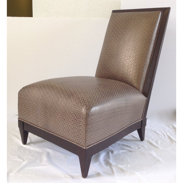 Donghia Panama Occasional Chairs - A Pair For Sale - Image 5 of 11