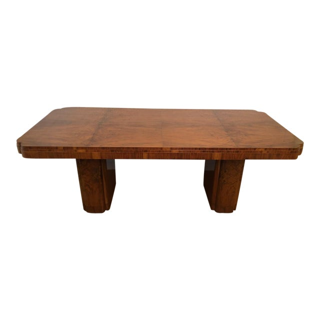 20th Century Art Deco Dining Table For Sale