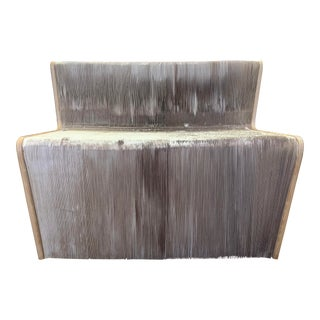 """""""FlexibleLove"""" Chishen Chiu Accordion Chair Made of Recycled Products For Sale"""
