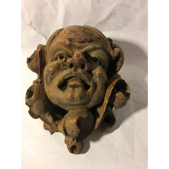 German Carved Oak Gargoyle - Image 6 of 9