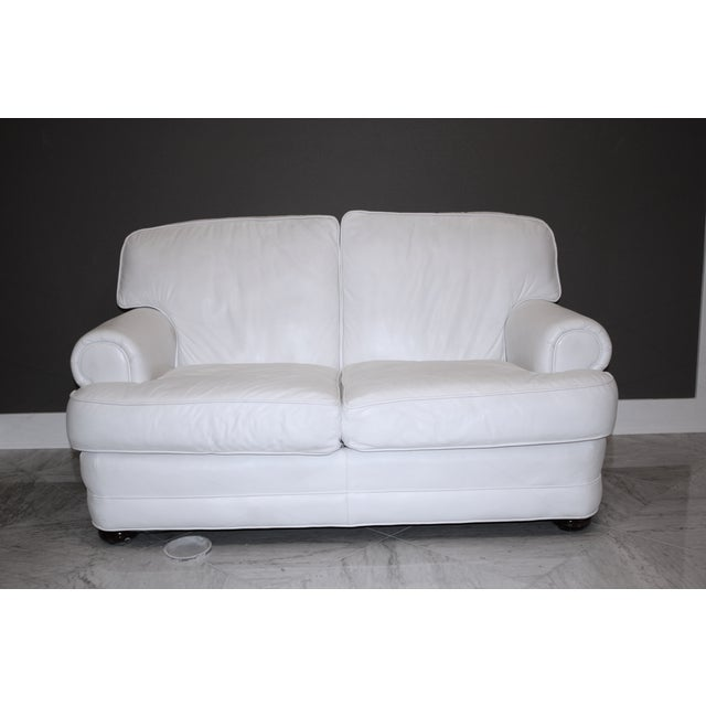 Top Grain Leather Loveseat by Emerson Leather - Image 2 of 10