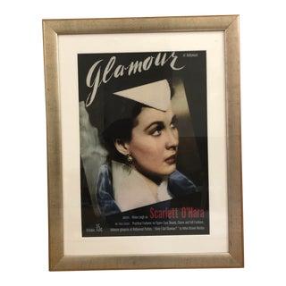 Vintage 1939 Vivien Leigh on Glamour Magazine For Sale