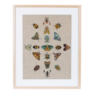 Specimens Framed Textile Art For Sale