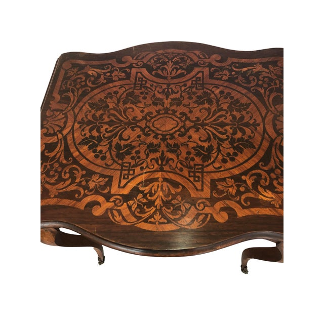 French Drop Leaf Table For Sale - Image 4 of 10