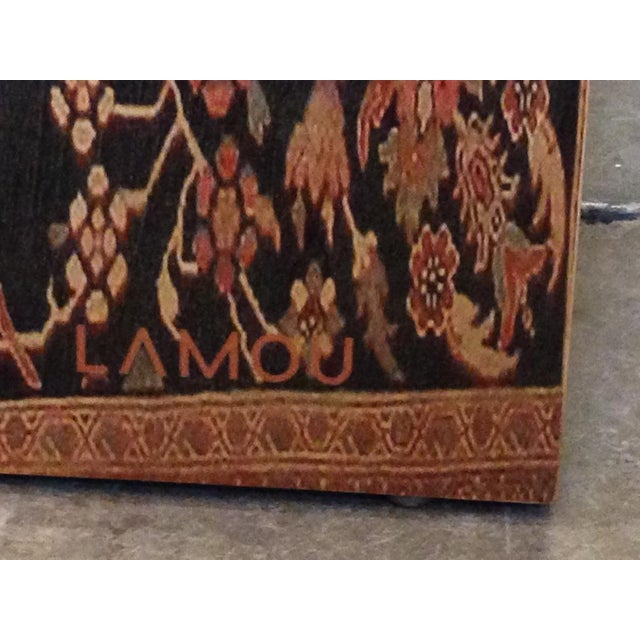 Bentwood Lamou Persian Rug Printed Bentwood Coffee Table For Sale - Image 7 of 7