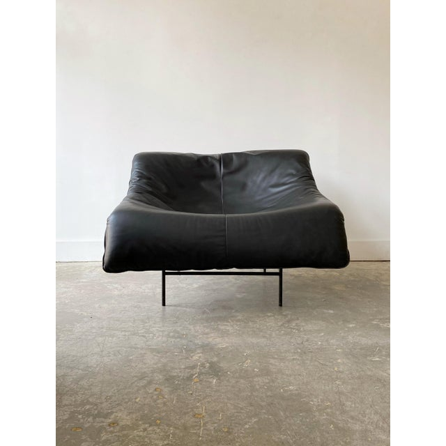 Leather 1980s Gerard Van Den Berg Black Leather Butterfly Chair For Sale - Image 7 of 11