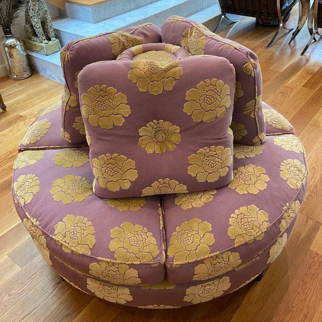 Roundabout With Manuel Canovas Fabric Chairish
