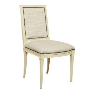 Hickory Chair Parisian Style Painted Amsterdam Side Chair For Sale