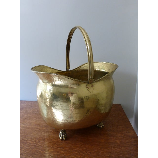 French Antique Brass Coal Hod - Image 2 of 8