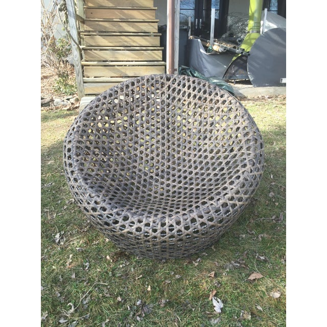 West Elm Montauk Nest Chairs - Set of 3 - Image 2 of 5