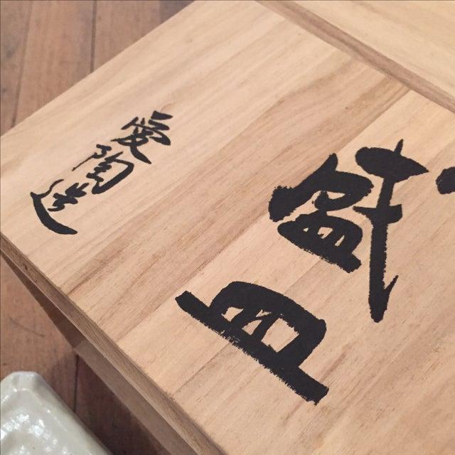 Vintage Japanese Plate Set - Image 6 of 6