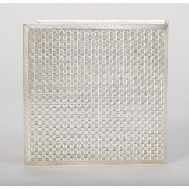 Silver Cigarette Box For Sale - Image 10 of 13