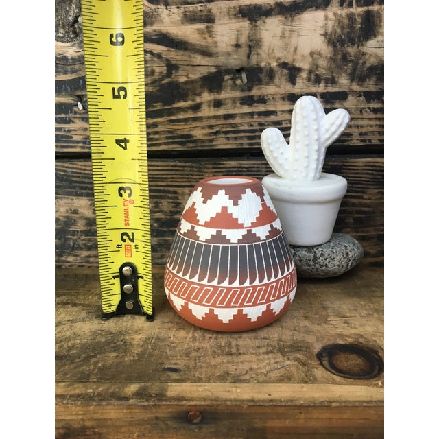 Navajo Indian Pottery Vase - Image 6 of 6
