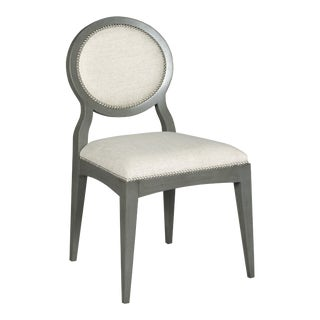 Ventura Oval Side Chair For Sale