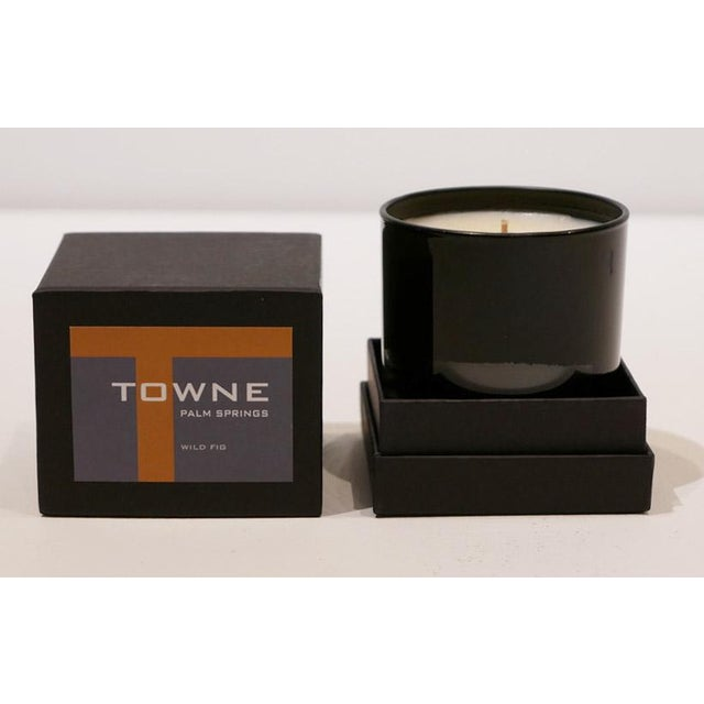 Contemporary Towne Wild Fig Candle For Sale - Image 3 of 5